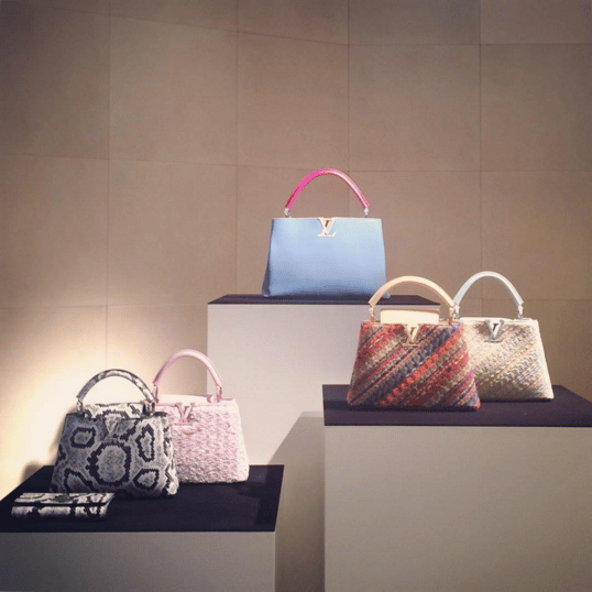 Louis Vuitton Capucines Tote Bags - Spring 2016