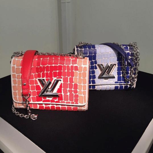 Louis Vuitton Multicolor Embellished Twist Bag - Spring 2016
