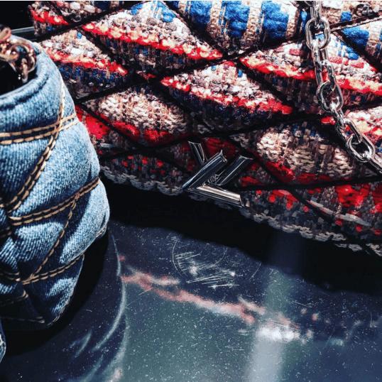 Louis Vuitton Multicolor Tweed Go-14 Bag - Spring 2016