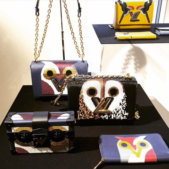 Louis Vuitton Owl Print Bags and Wallets - Spring 2016
