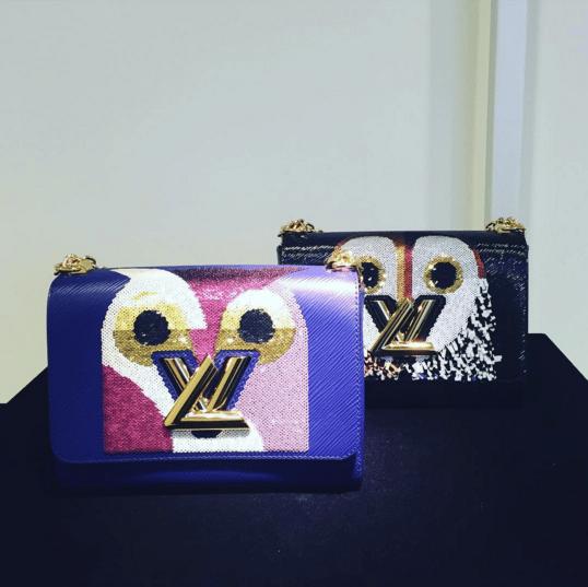 Louis Vuitton Owl Print Twist Bags - Spring 2016