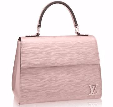 Louis Vuitton Rose Ballerine Cluny BB Bag