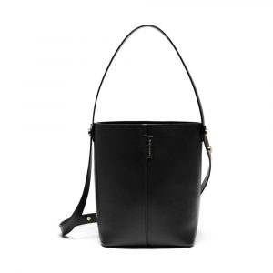 Mulberry Black Flat Calf Kite Tote Small Bag