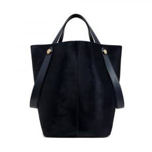 Mulberry Midnight Haircalf Kite Tote Bag