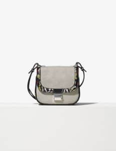Proenza Schouler Black/White Canvas/Ayers Tiny Kent Bag