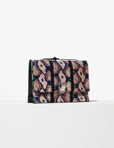 Proenza Schouler Dune/Aloe/Hibiscus Ayers Small Lunch Bag