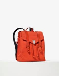 Proenza Schouler Fire Red PS1 Nylon Backpack Bag