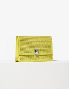 Proenza Schouler Sulphur Perforated Small Lunch Bag
