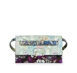 Valentino Multicolor Garden Couture Print Mime Belt Bag