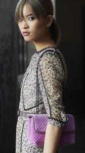 Bottega Veneta Violet Olimpia Bag 1