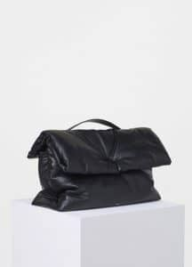 Celine Black Large Cartable Pillow Bag
