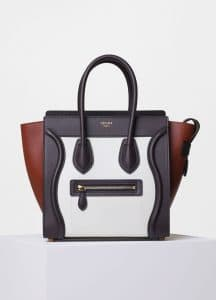 Celine Brick Multicolor Micro Luggage Bag