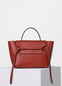 Celine Ruby Supersoft Calfskin Mini Belt Bag