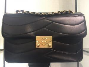 Chanel Black Pagoda Flap Small Bag 2