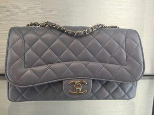 Chanel Gray Mademoiselle Chic Medium Flap Bag
