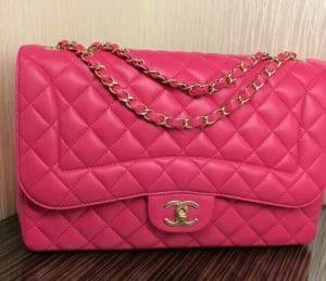 Chanel Pink Mademoiselle Chic Jumbo Flap Bag