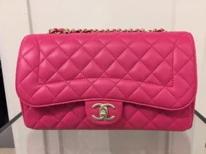 Chanel Pink Mademoiselle Chic Medium Flap Bag