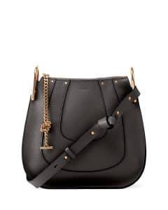 Chloe Black Hayley Hobo Small Bag