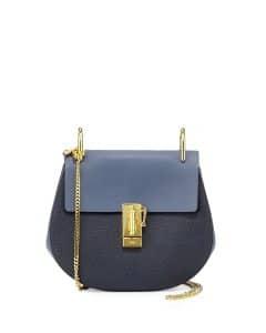 Chloe Navy/Blue Drew Small Bag