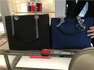 Dior Black Large and Navy Medium Ultradior Bags