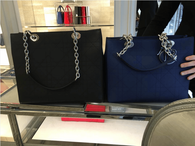 Dior Black Large and Navy Medium Ultradior Bags. IG   humberside designer london 400206a553cd8