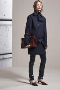 Dior Burgundy Python Diorever Tote Bag