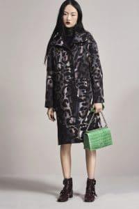 Dior Green Crocodile Diorama Bag