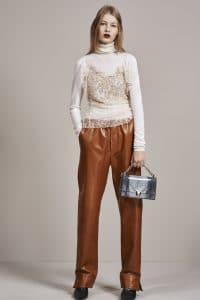Dior Grey Lizard Diorama Bag