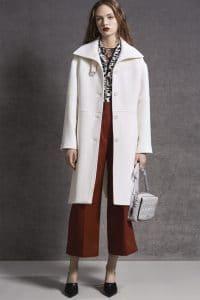 Dior Light Grey Cannage Shoulder Bag