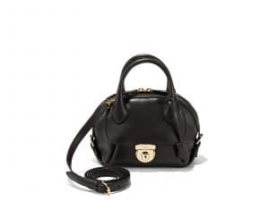 Ferragamo Black Small Fiamma Bag