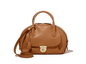Ferragamo Tan Medium Fiamma Bag