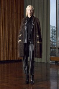 Givenchy Black Jacquard Stripe Wool Jacket - Pre-Fall 2016