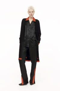 Givenchy Black Silk Satin Top and Trousers - Pre-Fall 2016
