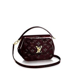 Louis Vuitton Amarante Monogram Vernis Pasadena Bag