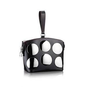 Louis Vuitton Black Mini Lockit Fusion Bag