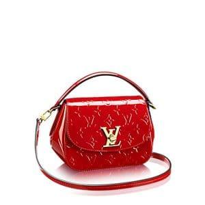 Louis Vuitton Cherry Monogram Vernis Pasadena Bag