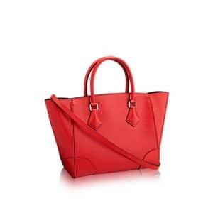 Louis Vuitton Coquelicot Epi Phenix MM Bag