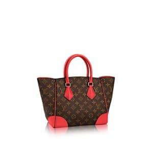 Louis Vuitton Coquelicot Monogram Canvas Phenix PM Bag