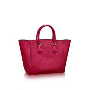 Louis Vuitton Fuchsia Epi Phenix MM Bag