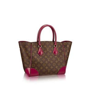 Louis Vuitton Fuchsia Monogram Canvas Phenix MM Bag