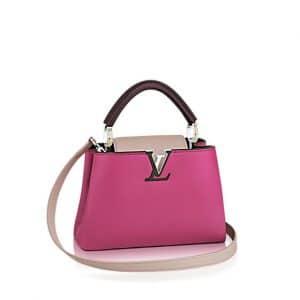 Louis Vuitton Grape Capucines BB Bag