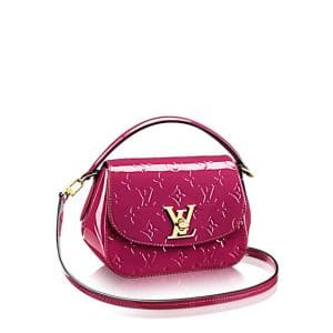 Louis Vuitton Magenta Monogram Vernis Pasadena Bag
