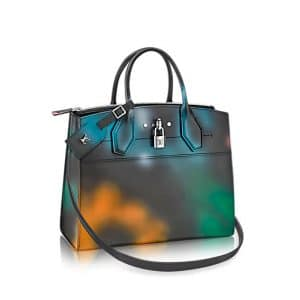 Louis Vuitton Multicolor City Steamer Hologram MM Bag