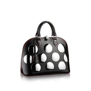 Louis Vuitton Noir Alma Fusion PM Bag