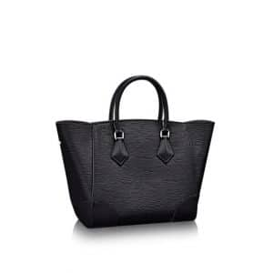 Louis Vuitton Noir Epi Phenix MM Bag