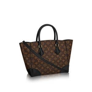 Louis Vuitton Noir Monogram Canvas Phenix MM Bag