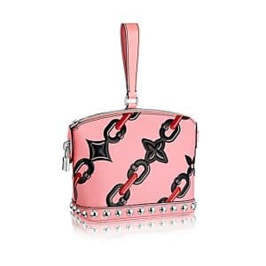 Louis Vuitton Pink Chain Flower Mini Lockit Bag