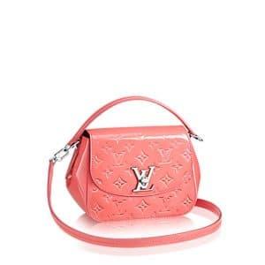 Louis Vuitton Poppy Monogram Vernis Pasadena Bag