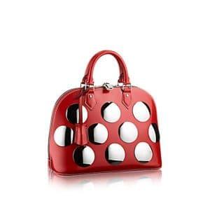 Louis Vuitton Red Alma Fusion PM Bag