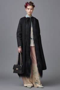 Valentino Black Studded Flap Bag 2 - Pre-Fall 2016